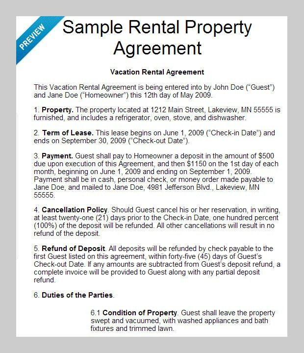 8 Best Rental Agreement Templates to Download | Free & Premium ...