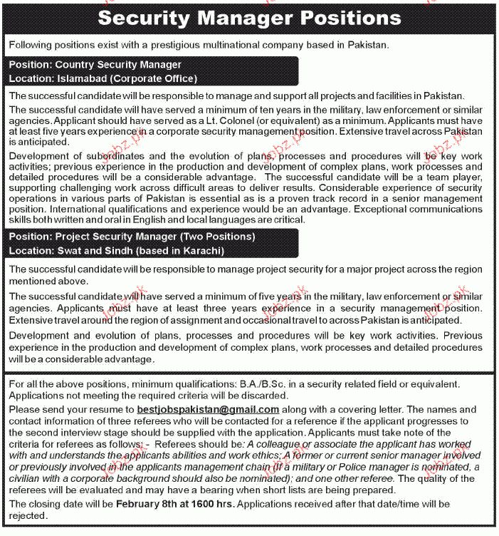 sample security manager resume cyber security manager resume