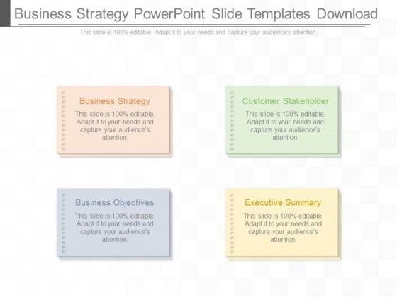 Business objectives PowerPoint templates, Slides and Graphics