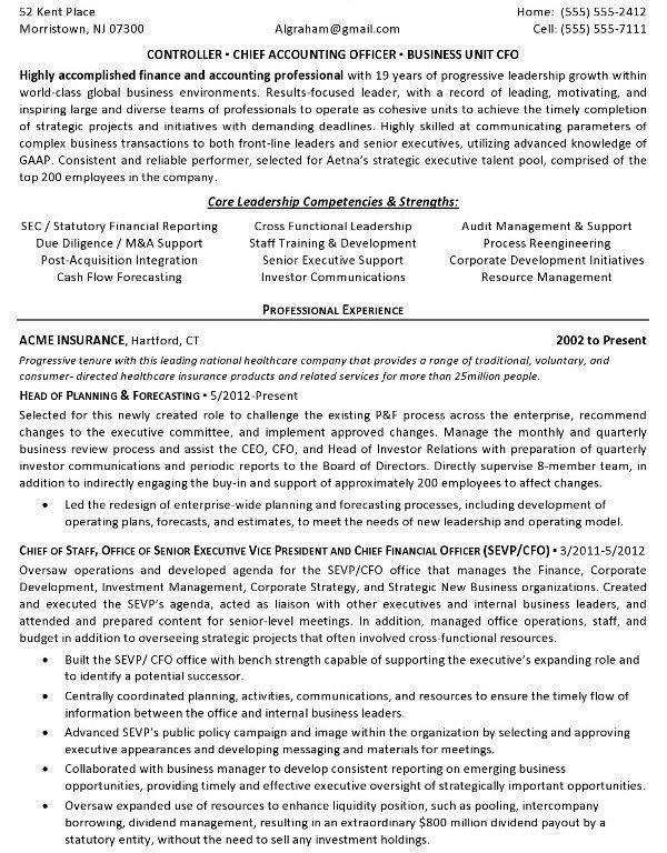 controller resume examples financial controller resume sample - Sample Financial Controller Resume