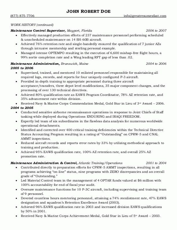 Government Resume Examples | Example Resume And Resume ...