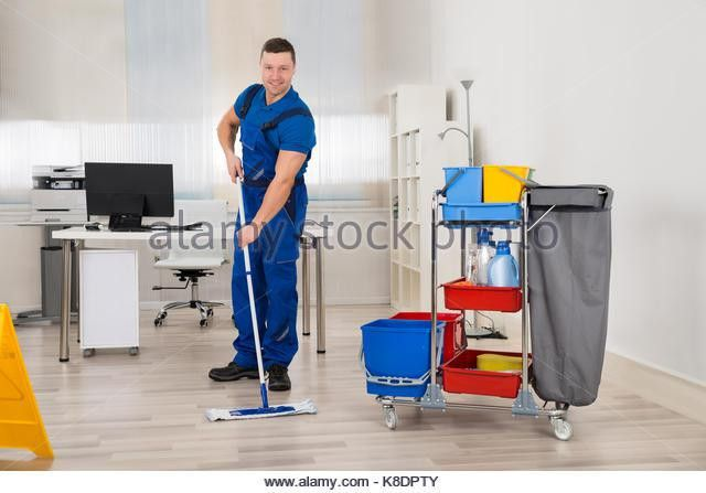 Mop And Bucket Man Stock Photos & Mop And Bucket Man Stock Images ...