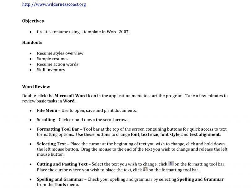 How To Build The Perfect Resume - Resume Example
