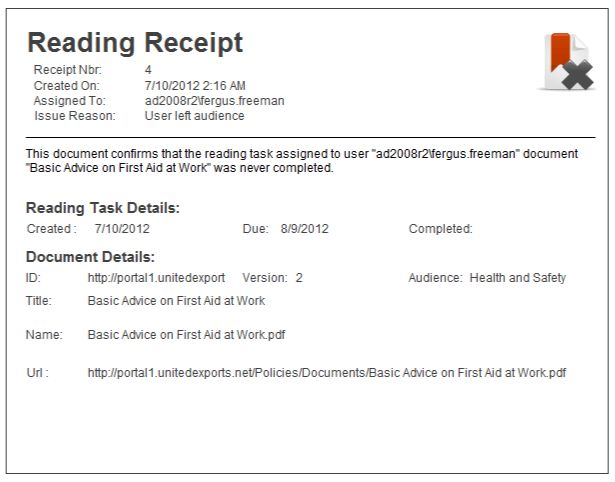 DocRead Receipts | Collaboris