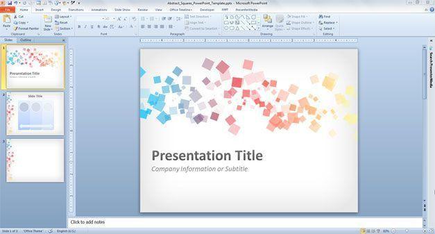 Free Download Presentation Slide Template - Tomyads.info