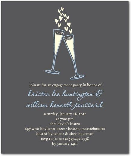 Engagement Party Invitation Templates | badbrya.com