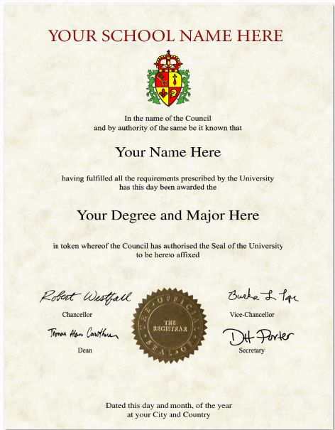Custom Diploma helps you to create your own fake international ...