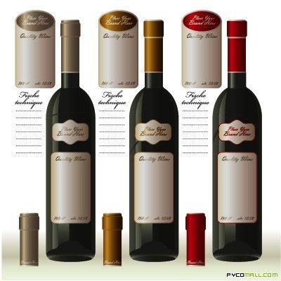 Wine Labels Template   Vector Arts