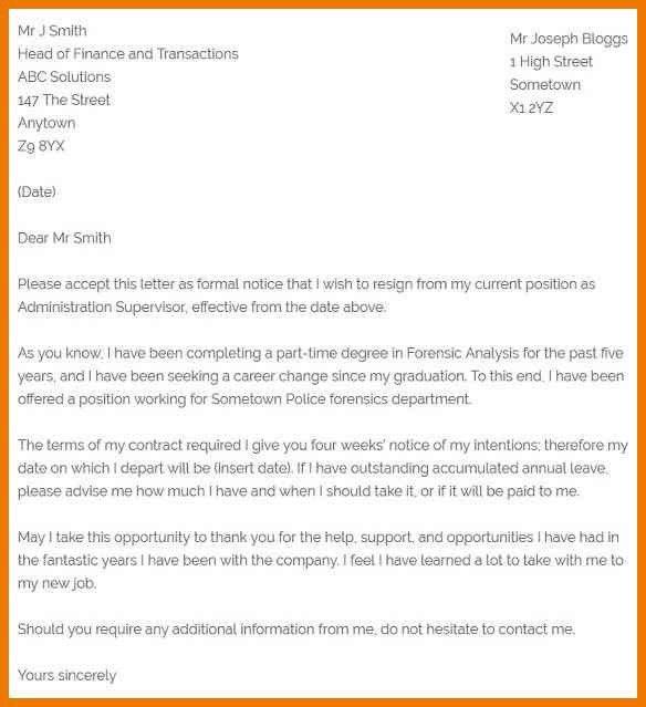 12+ how to compose a resignation letter | kozanozdra