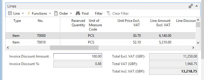 New application feature for Microsoft Dynamics NAV 2015 – Totals ...