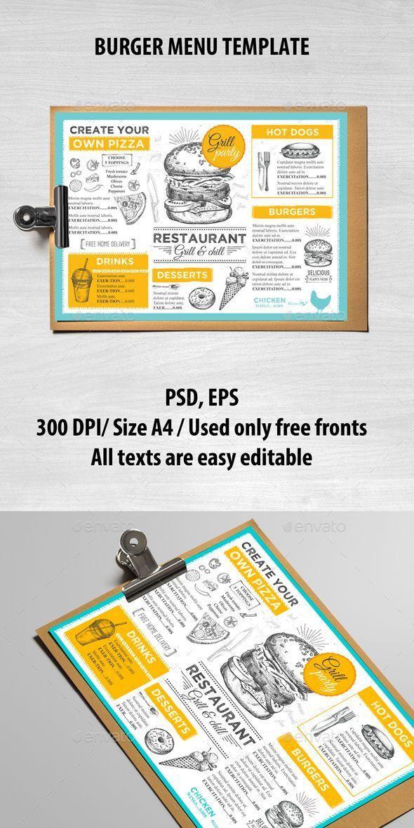 Best 25+ Burger menu ideas on Pinterest   Burger branding, Menu ...