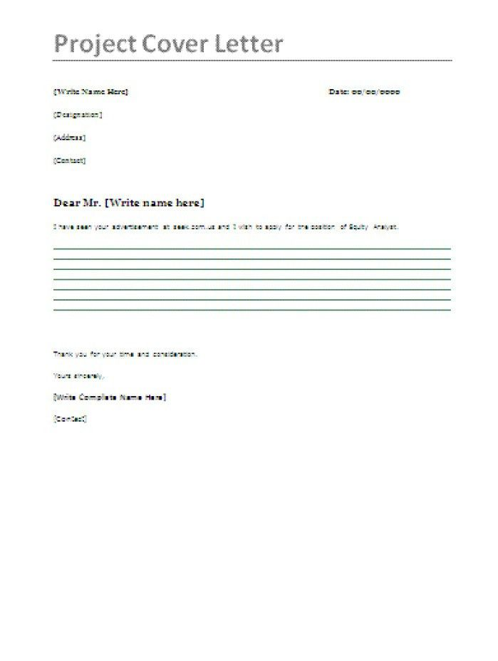 tender cover letter samples