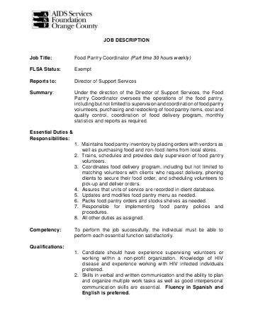 Scheduling Coordinator Job Description. Shift Coordinator Resume ...