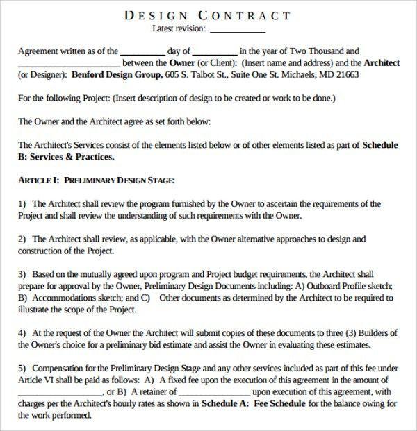 47 Architecture Design Proposals, Interior Design Fee Proposal ...
