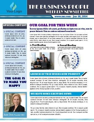 Free Newsletter Templates | PageProdigy