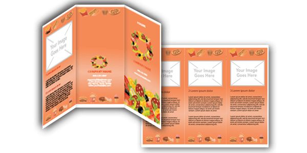 Download FREE Microsoft Word Food Brochure Templates!