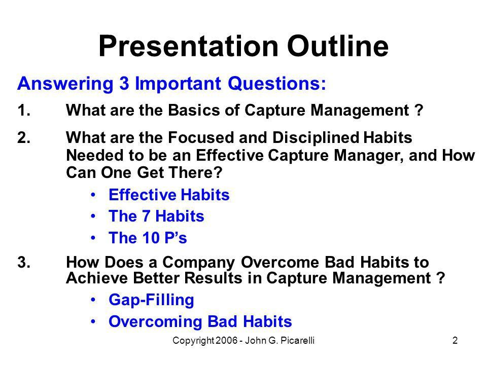 Presentation to The National Capital Area Chapter Of the - ppt ...