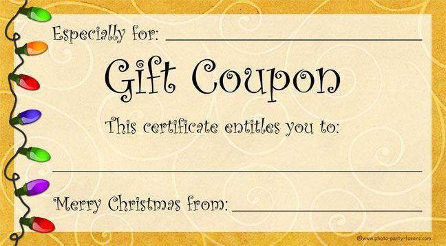 Need A Last Minute Christmas Gift? Free, printable Christmas gift ...