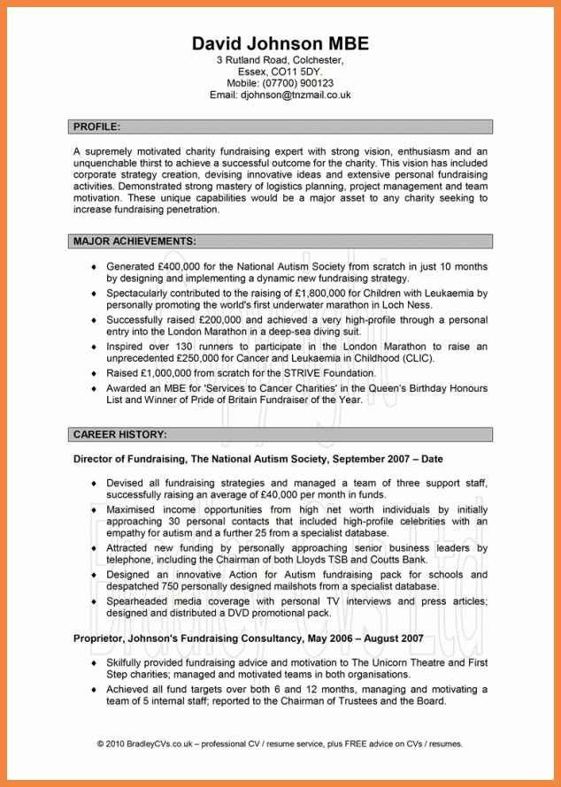 profile summary resume examples profile section of resume example