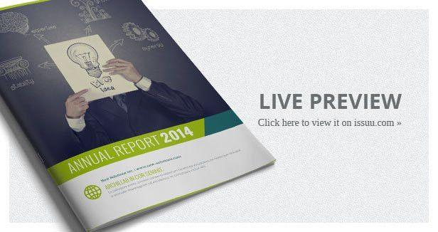 Annual Report 24 Pages by corrella | GraphicRiver