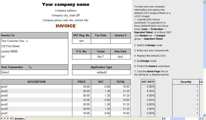 Download Mobile Billing Format | rabitah.net
