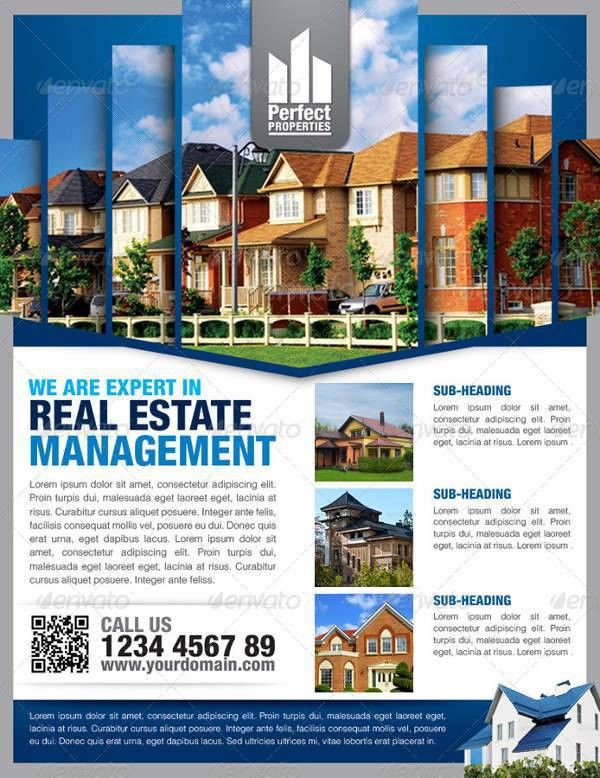 24+ Real Estate Flyer Designs | Design Trends - Premium PSD ...