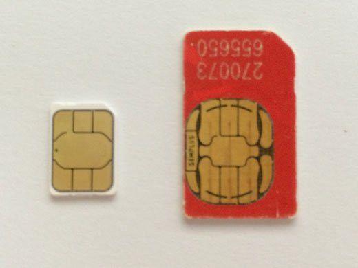 How to cut a SIM card to a nano-SIM for an iPhone or iPad ...