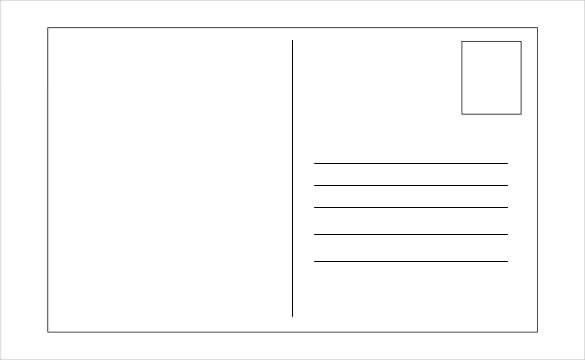 Free Postcard Template Download | Manager.billybullock.us