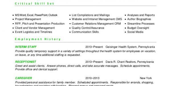 Event Planner Resume Conference Manager Resume Resume Templates ...