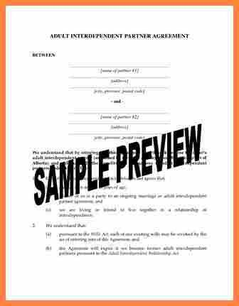 5+ common law separation agreement template bc | Purchase ...