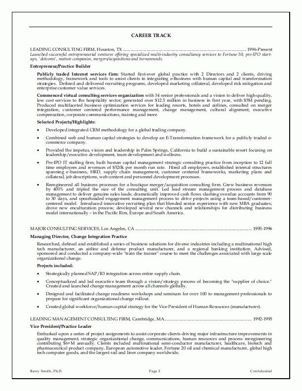 Stunning Inspiration Ideas Executive Resumes 7 Sample Resumes CEO ...