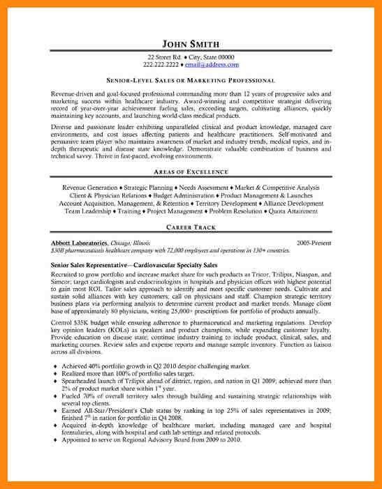 5+ sales representative resume sample | nurse resumed