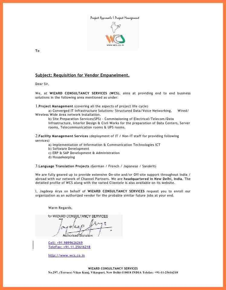 Company Introduction Letter Format. 6 Company Introduction Letter ...