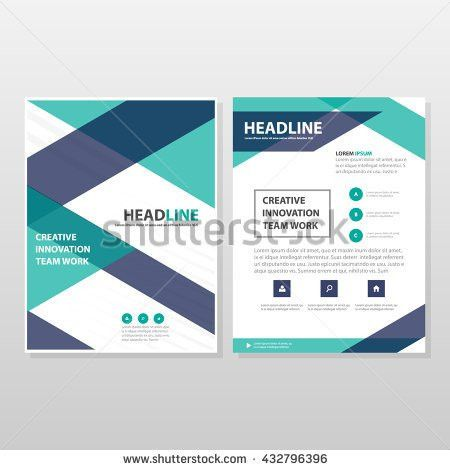 Business Brochure Design Annual Report Vector Stock Vector ...