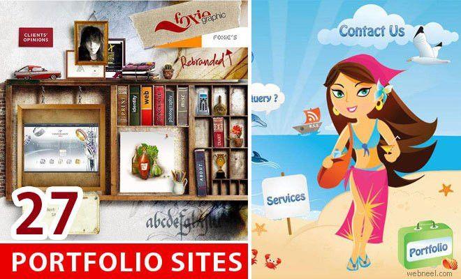 Beautiful Portfolio Website Design examples that will make you ...
