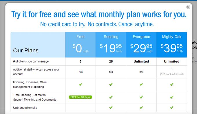 20 Best Designed Pricing Comparison Table Examples | Product ...