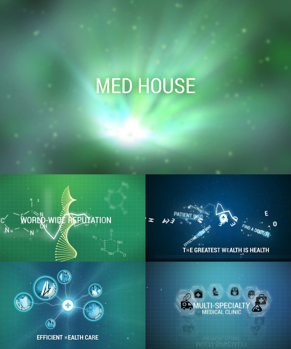 Medical After Effects Intro #46577