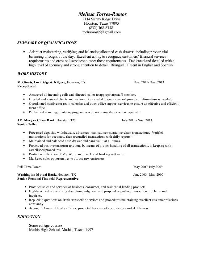 10 teller resume sample writing tips writing resume sample - Bank Teller Skills For Resume