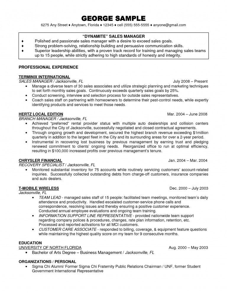 Bank Branch Manager Resume, banking branch manager cover letter ...