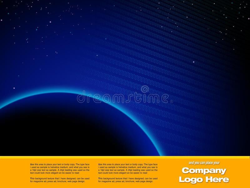 Space Graphic Design Template Royalty Free Stock Photo - Image ...