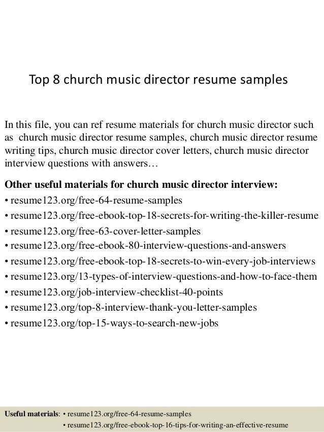 top-8-church-music-director-resume-samples-1-638.jpg?cb=1431956503