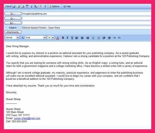 email sample | bio letter format