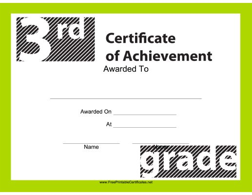 Teachers and students will enjoy this free, printable certificate ...