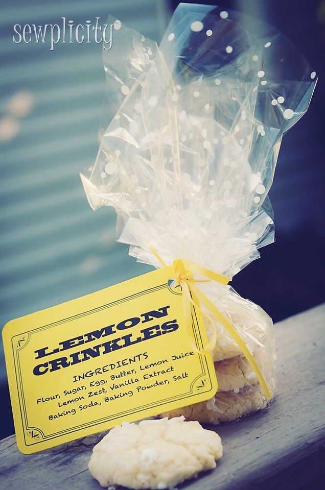 Bake Sale Packaging Tips (w/Labels) - Sewplicity