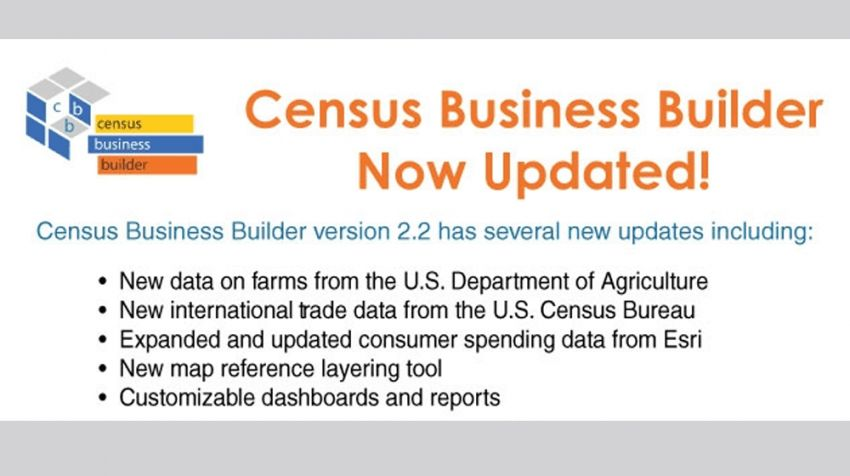 U.S. Census Bureau Updates its Business Builder Tool, Here's ...