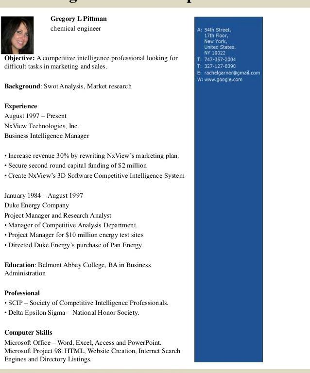 Wondrous Inspration Chemical Engineer Resume 16 Top 8 Samples ...