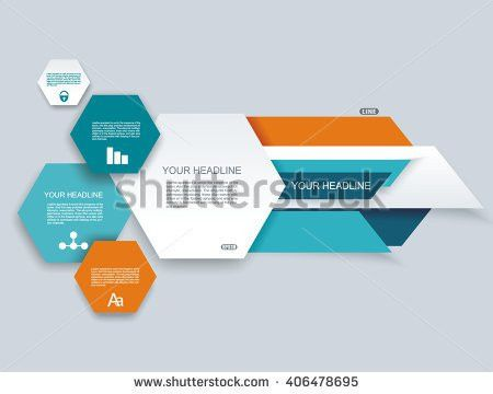 Time Line Design Template Paper Tags Stock Vector 173018135 ...