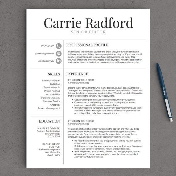 Best $15 I've ever spent! Completely changed the look of my resume ...