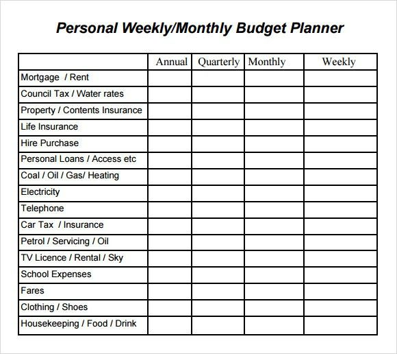 Sample Monthly Budget. Simple-Monthly-Budget-Template1 Jpg Sample ...