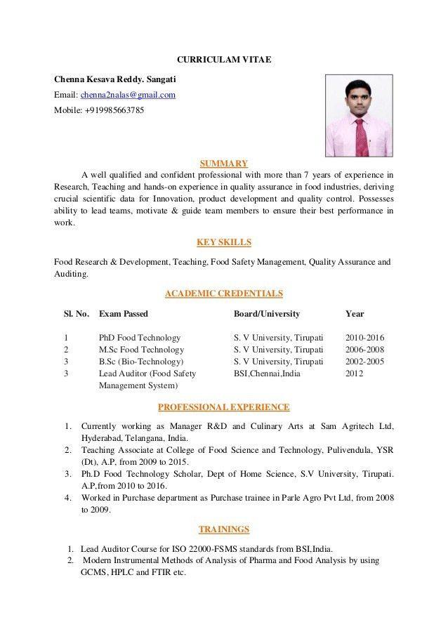 Quality Assurance Resume. Quality Assurance Job Description Resume ...
